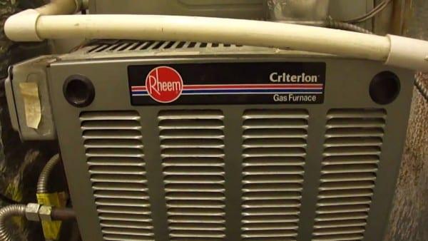 Rheem Criterion High Efficiency Furnace & Central A C