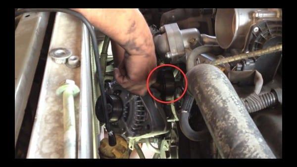 Alternator Replacement Test Toyota 4runner V8 √ Fix It Angel