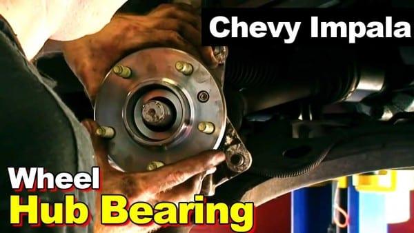 2002 Chevrolet Impala Or Monte Carlo Wheel Hub Bearing & Axle Nut