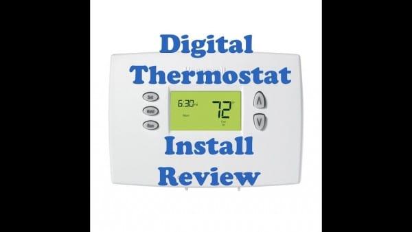 Rv Camper Honeywell Thermostat Install Part 1