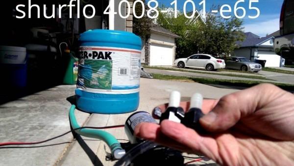 Shurflo Revolution Water Pump 4008
