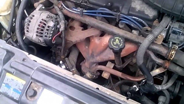 Chevy Cavalier Themostat Hose Replacement Pt 2