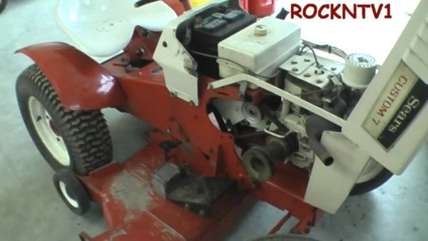 Sears Custom 7 Garden Tractor
