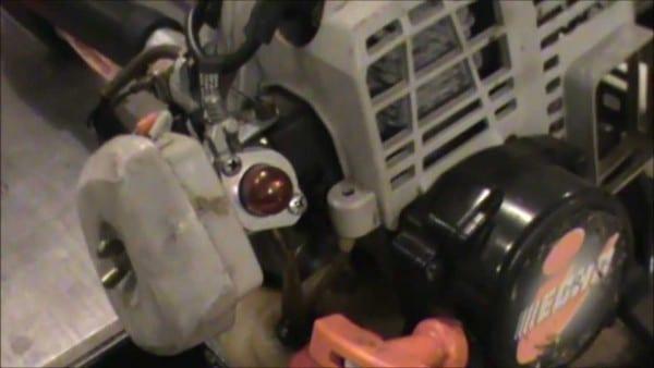 Echo Trimmer Fuel Problem Fixed