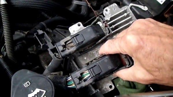 Pontiac G6 Computer Removal