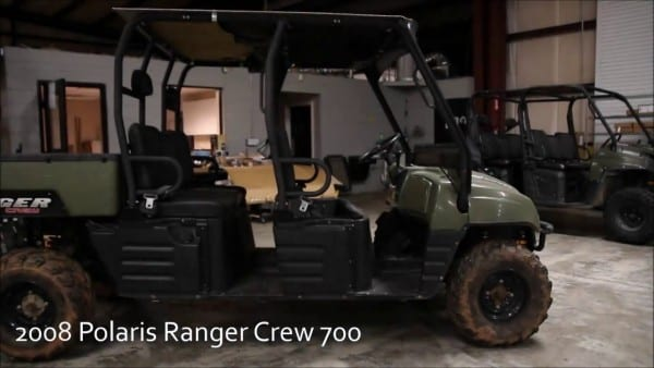 2008 Polaris Ranger Crew 700 Used Parts