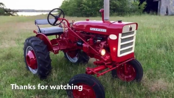 1960 Farmall 140 Tractor & Attachments Refurbished