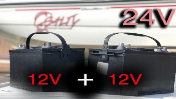 Installing 24v Battery System For Trolling Motor (24 Volt Battery