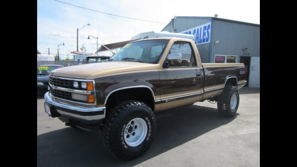 1988 Chevy 2500 4x4 Sold!!