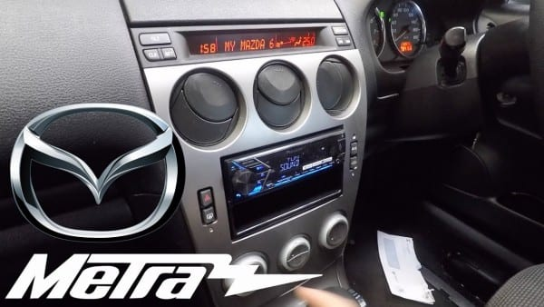 Mazda 6 Attenza Detailed Stereo Replacement