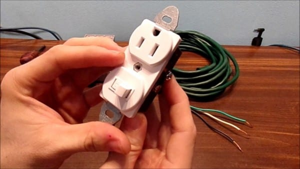 How To Wire A Switched Outlet Combo