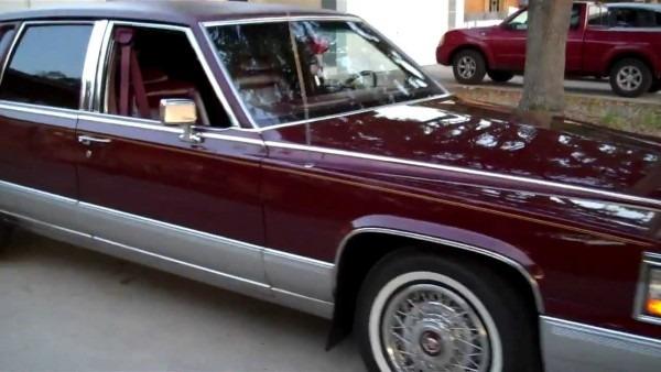My Cadillac Fleetwood Brougham 1991