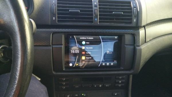Nexus 7 Tablet In Bmw 323i (e46) With Oem Harman Kardon Stereo