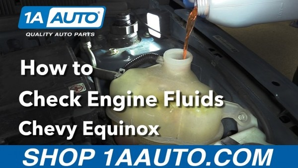 How To Check The Engine Fluids 2008 Chevy Equinox Buy Quality Auto