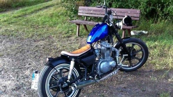 El Psycho Kz 440 Ltd Custombike Kawasaki Lanesplitter