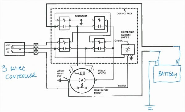 Warn Winch Motor Wiring Diagram
