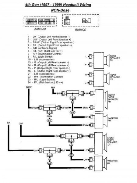 2004 Nissan Sentra Radio Wiring Diagram
