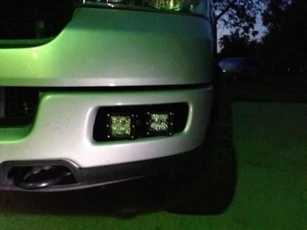 Rigid Raptor Style Led Fog Lights On A 2005