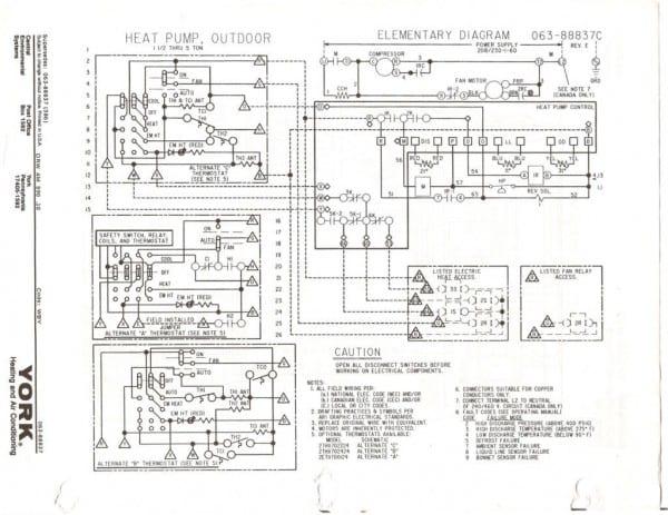 Payne Heat Pump Wiring Diagram Website At