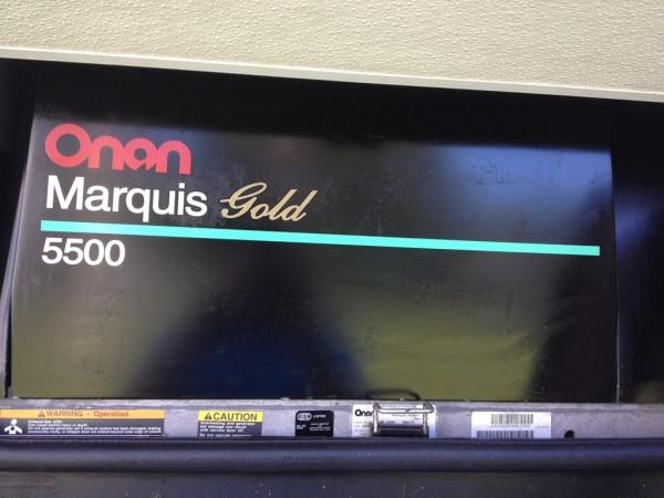 Onan Marquis Gold 5500 Oil Change