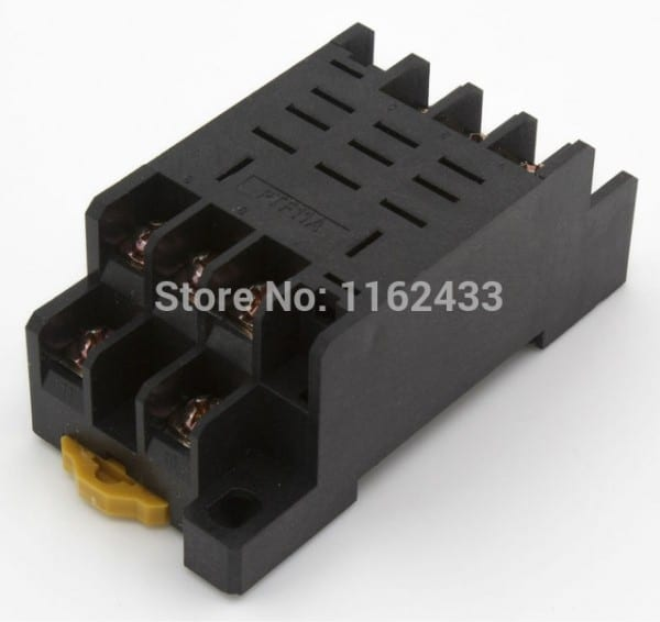 Ptf11a 11 Pin Relay Socket Base For Ly3 Hh63p