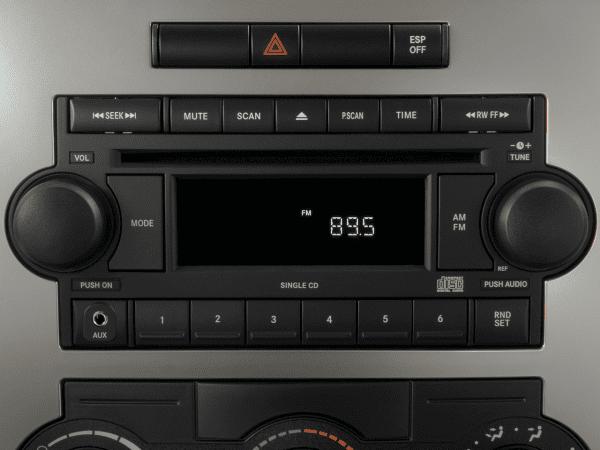 2010 Dodge Charger Radio Interior Photo