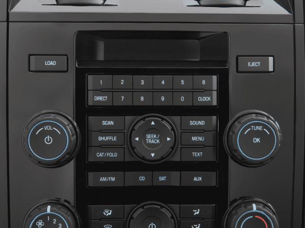 2008 Mazda Tribute Radio Interior Photo