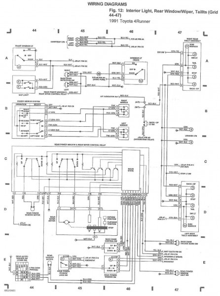 1988 Toyota Wiring Diagram