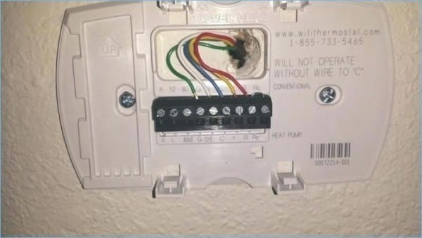 Reset Honeywell Wifi Thermostat Wiring Diagram For On