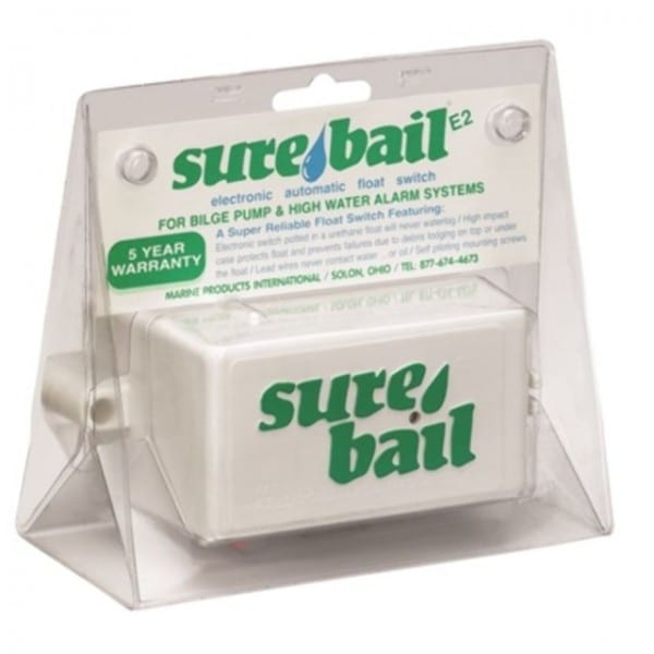 Mpi Sure Bail Electronic Float Switch For Full Automatic Bilge