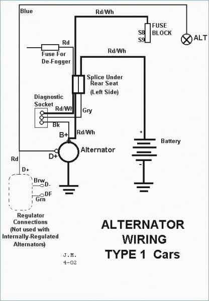 Simple Alternator Wiring