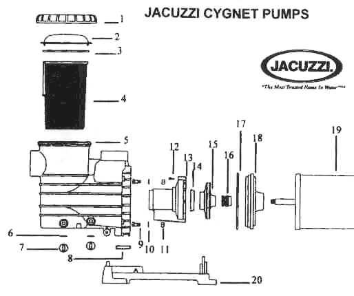Jacuzzi Pool Pump Wiring