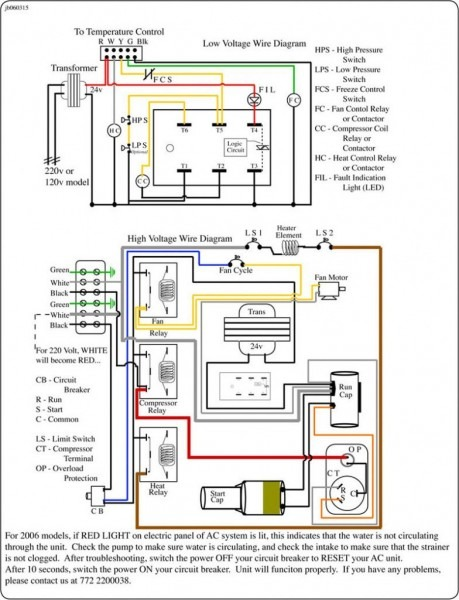 Central Air Conditioning Wiring Diagrams