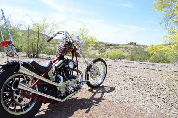 Zach's Evo Sportster Chopper