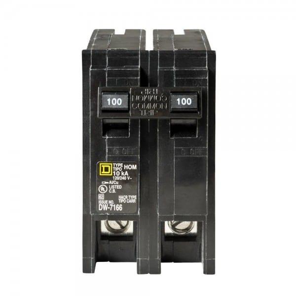 Square D Homeline 100 Amp 2