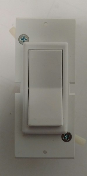 Mobile Manufactured Home Self Contained Rocker Light Switch