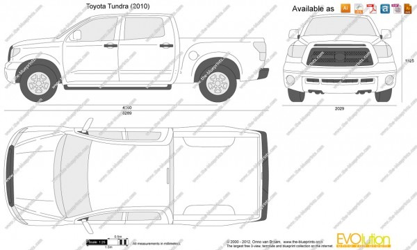 Toyota Tundra Drawing