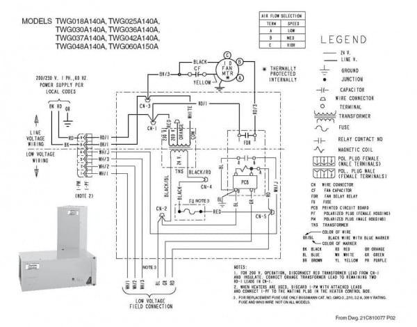Trane Thermostat Wiring Diagram – Bigapp Me