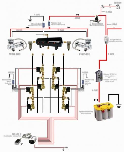 Air Bag Switch Box Wiring Diagram 9