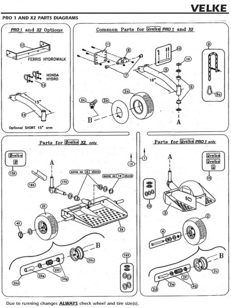 Velke Illustrated Parts Diagrams