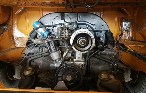 Vw T2 Bay Campervan Engine — News — Anne's Vans