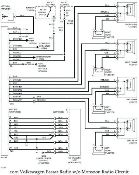 Vw Jetta Stereo Wiring Diagram Auto Diagrams Of Car Radio Photo At