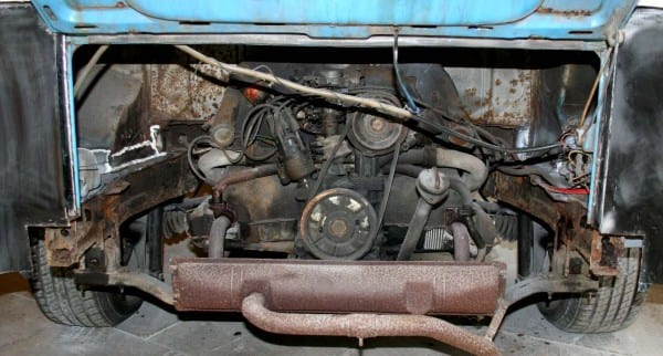 Engine Gearbox Air Cooled Vw Camper Kombi Van Bus Van Mechanical