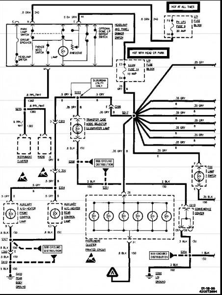 1996 Chevy 1500 Wiring Diagram