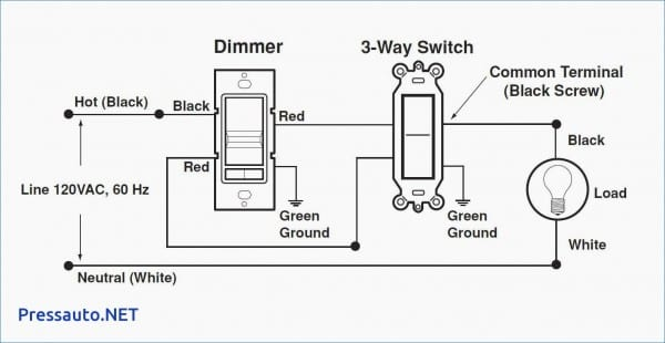 Leviton 3 Way Dimmer Wiring Diagram