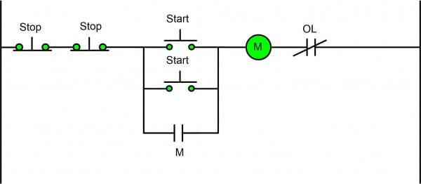 Wiring Diagram Of Motor Control Circuit Valid Two Wire Three With