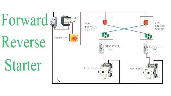 Reversing Single Phase Motor
