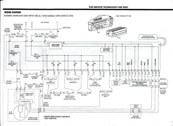 Whirlpool Du945 Dishwasher Motor Diagram