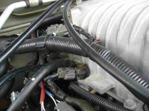 02 Nissan Frontier Knock Sensor