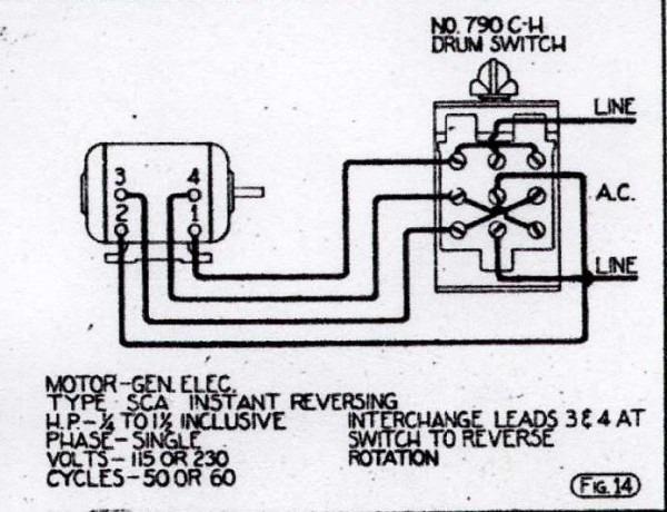 Ge Electric Motor Wiring Schematics  U2013 Car Wiring Diagram
